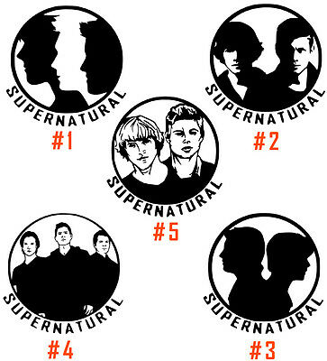 SUPERNATURAL VINYL DECAL Sticker Anti-Possession Symbol Sam