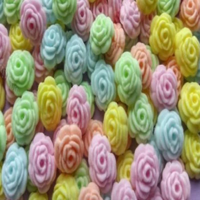 200 Edible Sugar Tiny Roses Pastel Colours Cake Cupcake Toppers Decorations