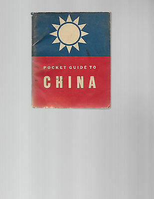 A Pocket Guide to China (1942), illustrations by Milton Caniff