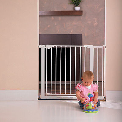 New Childcare Baby Child Safety Gate Pet Barrier Assisted AutoClose #`089346-003