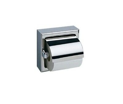A8867 Surface Mounted Stainless Steel Toilet Roll Holder, Exposed Surface Polish