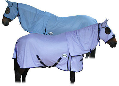 CARIBU ENDURO FLY AIR MESH Attached Hood Horse Rug, Cool Strong 410gsm