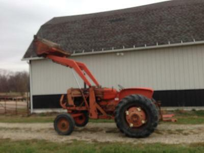 Allis Chalmers 400 Series Front-end Loader and Pump  D17 YOU-TUBE VIDEO