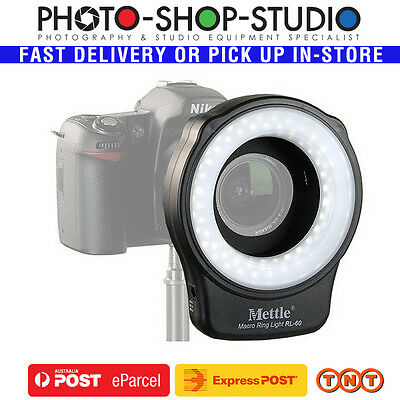 Mettle Macro LED Ring Light RL-60 Video Continuous Closeup Dental Dentist Insect