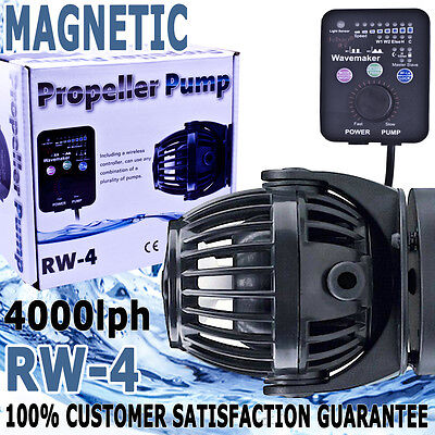 Jebao RW-4 Aqua Aquarium Fish Tank Reef Controllable Wave Maker Pump 4000lph