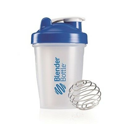 Blender Bottle Classic Clear Shaker 400ml mit Mix-Ball