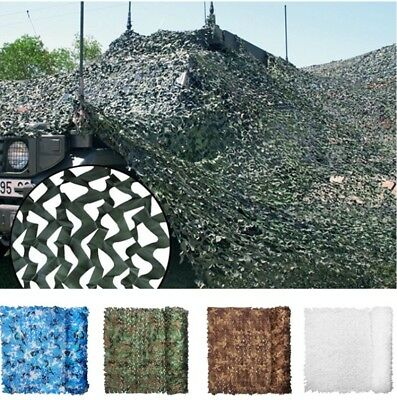 UK Camouflage Hunting Camping Home Garden Decor Kids Play Sunshade Camo Net