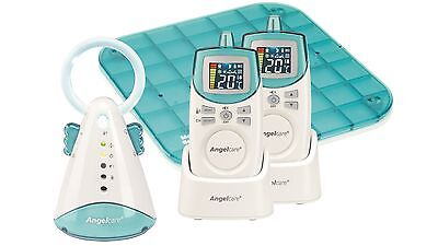Angelcare 2 Parent Units & Single Sensor Pad - Sound & Movement Monitor