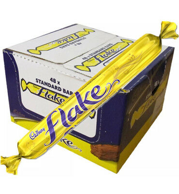 Cadbury Flake Full Case X48 Full Size Bars. Free Delivery Long Date. REDUCED