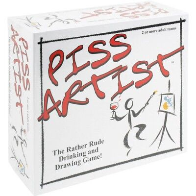 Piss Artist Board Game Drinking Adult Game Naughty Adults Only Fun Game