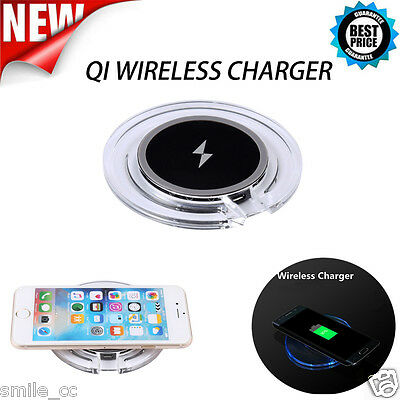 2PCS Qi Wireless Power Charging Charger Pad For Samsung Galaxy S6 Edge/S7/HTC 8X