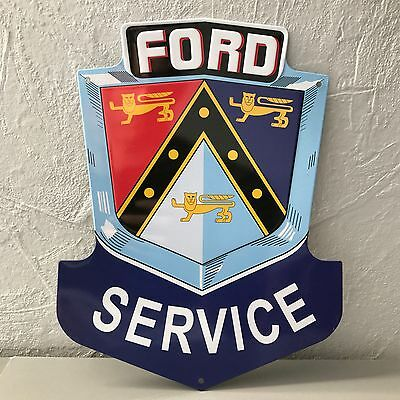 Ford Service METAL SIGN VINTAGE GARAGE CAR