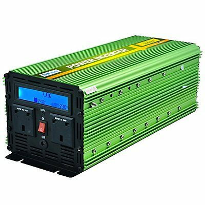 Generic Power Inverter 3000W DC 24V to 240V AC Car Vehicle with LCD Display and