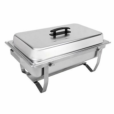 Sterno 8-Pieces Indoor Homes Kitchen Folding Frame Food Warmer Buffet Chafer Set