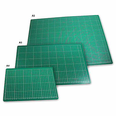 Cutting Mat Non Slip Printed Grid Lines Knife Board Crafts Models A2, A3, A4