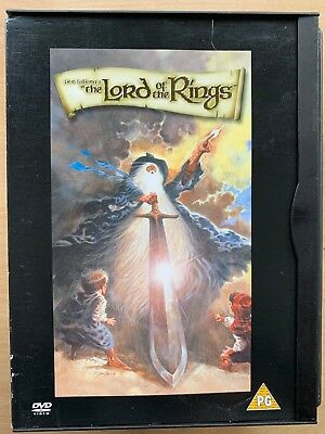 LORD OF THE RINGS ~ 1978 Ralph Bakshi J.R.R. Tolkien Animated Cult Film UK DVD