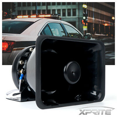 Xprite 200W G1 Compact Loud Speaker PA System Horn Emergency Warning Siren