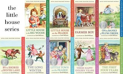 9 Audiobooks - The Little House Series by Laura Ingalls Wilder Mp3 Unabridged  T