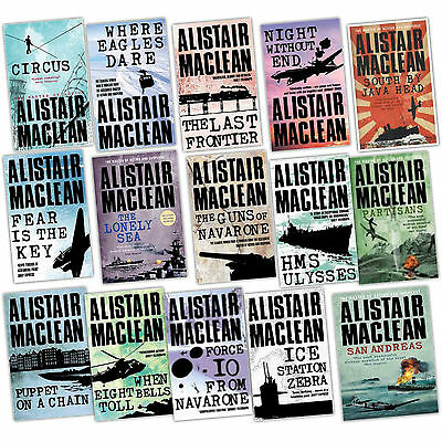 26 Audiobooks The Alistair MacLean Majority Novels Collection Unabridged Mp3  Th