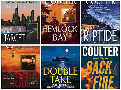 17 audiobooks - FBI suspense thrillers Series By Catherine Coulter mp3 Dvd  FBI