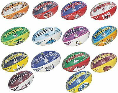 Official Steeden NRL Club Beach Footballs [Size 5]