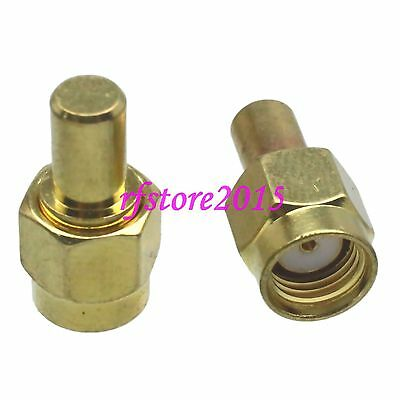 1pce Termination Dummy Load RP-SMA male 1W 1 Watts DC 0-3GHZ 50ohm RF COAXIAL