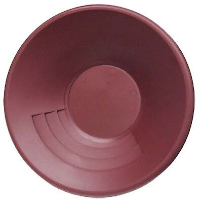 15'' inch Poly Gold Pan (Maroon)