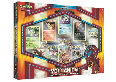 Pokemon Trading Card Game Volcanion Mythical Collection Box New/Sealed