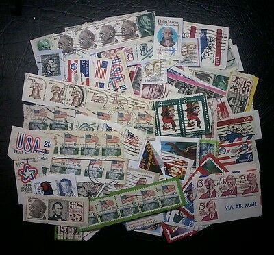 United States, Nth America, Bulk Lot of Stamps on paper,Apx.37g,C&S,#1522