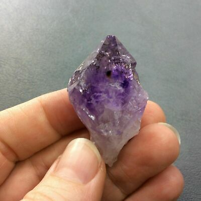 Natural Rough Amethyst Crystal Point 161275 Brazil Metaphysical Healing