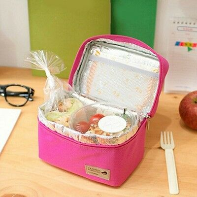 Insulated Thermal Small Picnic Cooler Lunch Bag Food Drink Storage Box Container