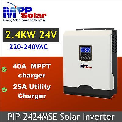(HSE) 3kva 2400w 24v off grid Solar inverter solar charger 50A + battery charger