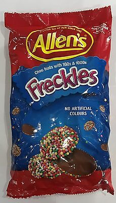 905924 1kg BULK BAG OF ALLEN'S FRECKLES - CHOC BUDS WITH 100s & 1000s! - AUS