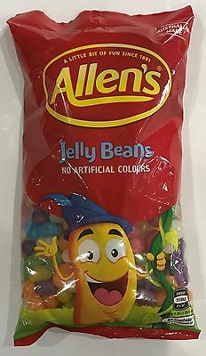 905923 1kg BULK BAG OF ALLEN'S FAMOUS JELLY BEANS! - AUSTRALIAN MADE!!