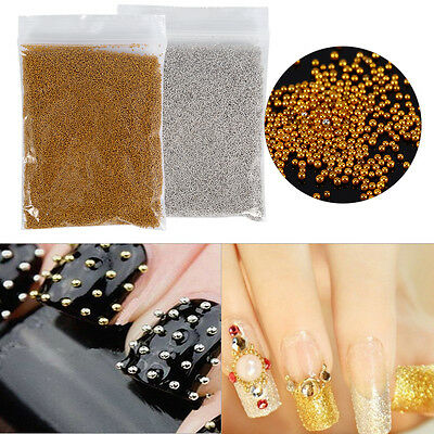 Mini Glitter 3D Metal Caviar Beads Decoration Manicure For DIY Nail Art/Phone JS