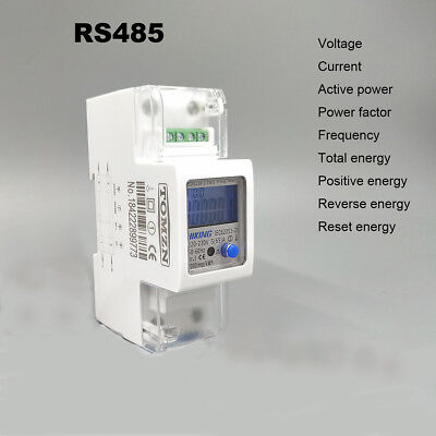 5(65)A 230V50HZ voltage current DDS238-2 ZN/S energy meter with RS485 MODBUS-RUT
