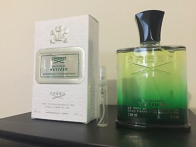 Original Vetiver By Creed 5ml Sample/ Perfume/ Fragrance/ 100% Genuine