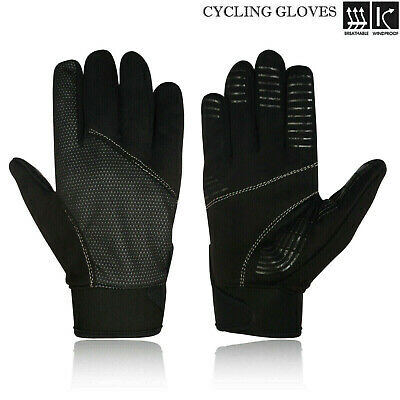 Cycling Winter Gloves Full Finger Windproof Bicycle MTB Outdoor Gloves