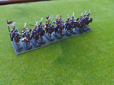 1/72 20mm painted Napoleonic French Guard 1st Polish Lancers