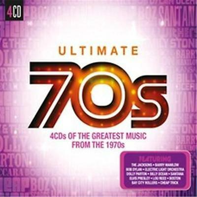 ULTIMATE 70s VARIOUS ARTISTS 4 CD NEW