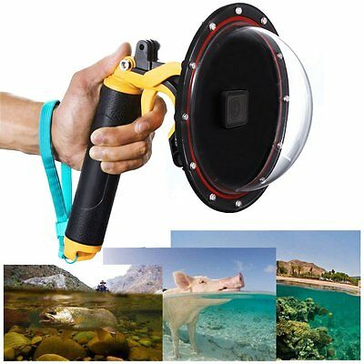 Underwater Diving Lens Dome Port Case Cover For GoPro Hero 5 Black Action Camera