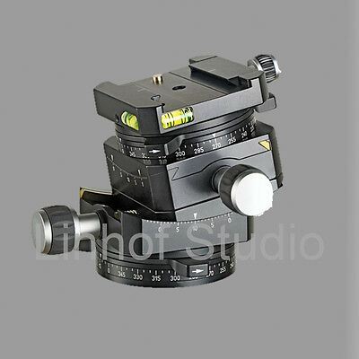 Linhof 3D Micro Levelling Tripod Head with Dovetail