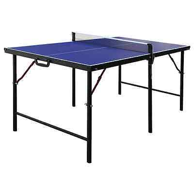 Hathaway Crossover Portable Table Tennis Table, 60-Inch