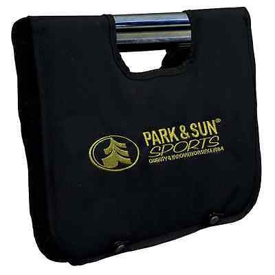 Park & Sun Sports Professional Steel Horseshoes Game Set with Carrying Bag