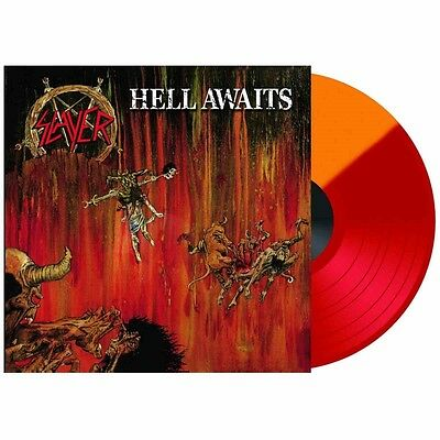 Slayer Hell Awaits (LIMITED EDITION) Vinyl LP NEW & SEALED