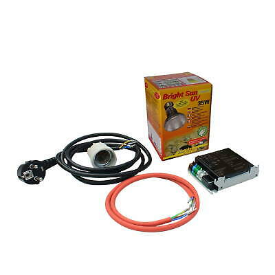 Lucky Reptile Bright Sun UV Komplett Set Jungle Desert 35 Watt + EVG umschaltbar