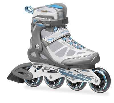 Rollerblade Macroblade Women's Inline Skates Anthracite/Light Blue UK 5.5