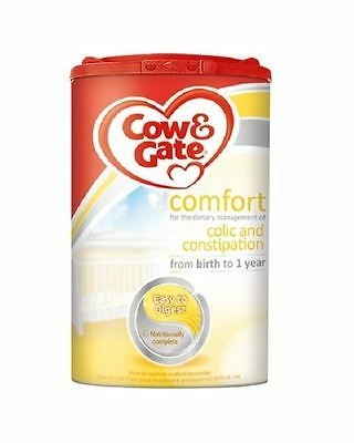 Cow & Gate Comfort Birth to 1 Year 900g 1 2 3 6 Packs