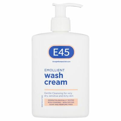 E45 Emollient Wash Cream | Dry Itchy Skin Conditions 250ml