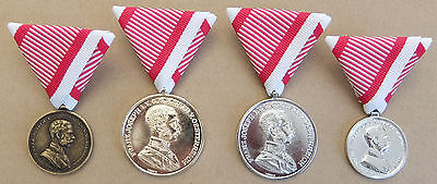 Austro-Hungarian Ww1 Bravery Medal Collection